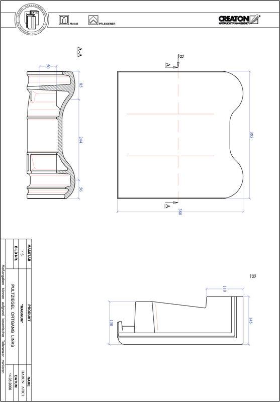 CAD soubor tašky MAGNUM pultová taška krajní levá PULTOGL