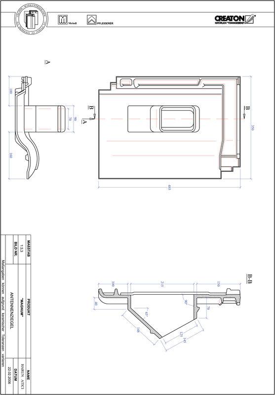 CAD soubor tašky MAGNUM anténní taška ANTENNE