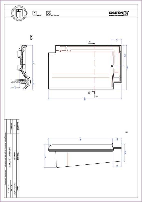 CAD soubor tašky PREMION krajní taška pravá OGR