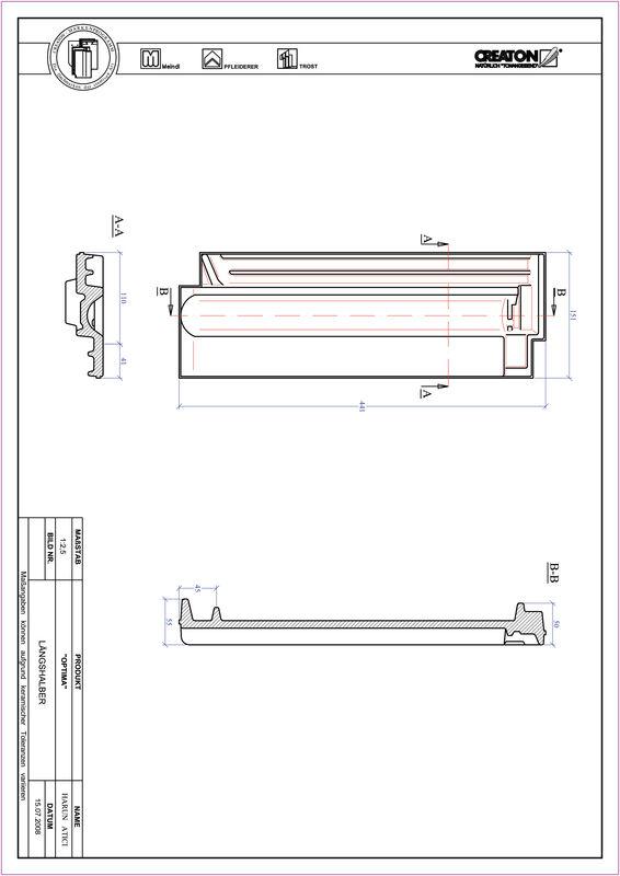 CAD soubor tašky TERRA OPTIMA poloviční taška LH