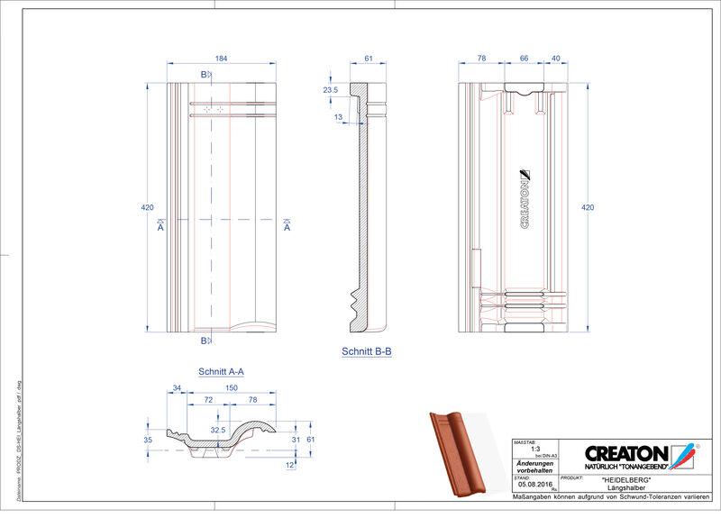CAD soubor tašky HEIDELBERG poloviční taška Laengshalber