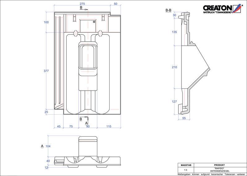 CAD soubor tašky RAPIDO anténní taška ANTENNE