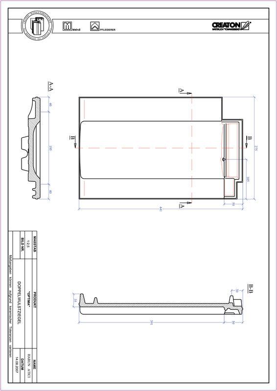 CAD soubor tašky TERRA OPTIMA taška s dvojitou naválkou DWZ