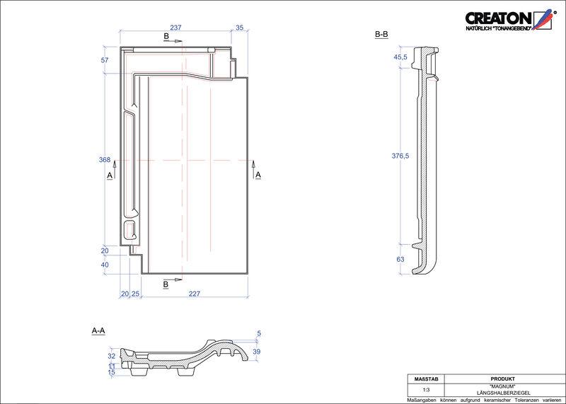 CAD soubor tašky MAGNUM poloviční taška LH