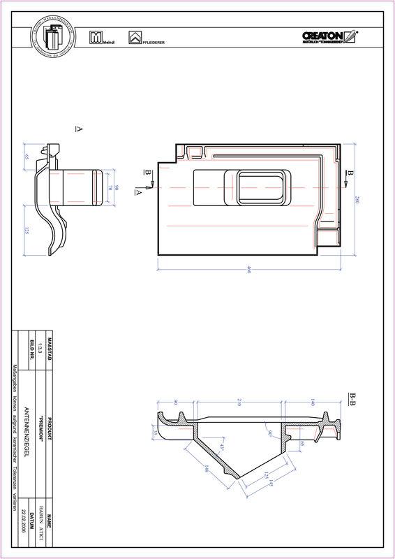 CAD soubor tašky PREMION anténní taška ANTENNE