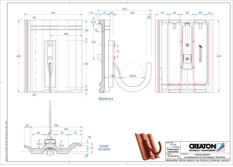CAD soubor tašky HEIDELBERG zákl. taška Rundholz