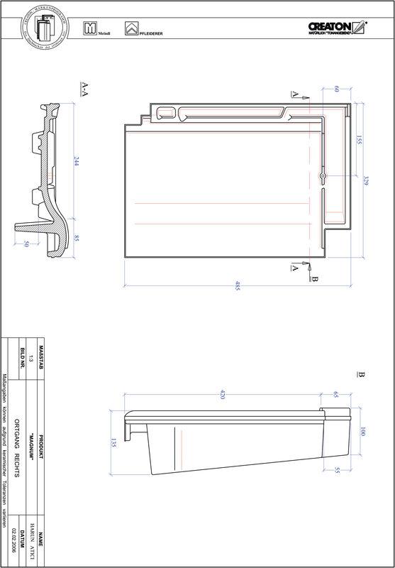 CAD soubor tašky MAGNUM krajní taška pravá OGR