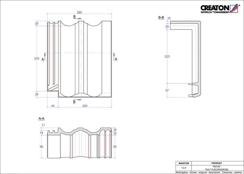 CAD soubor tašky RATIO pultová taška PULTFLA