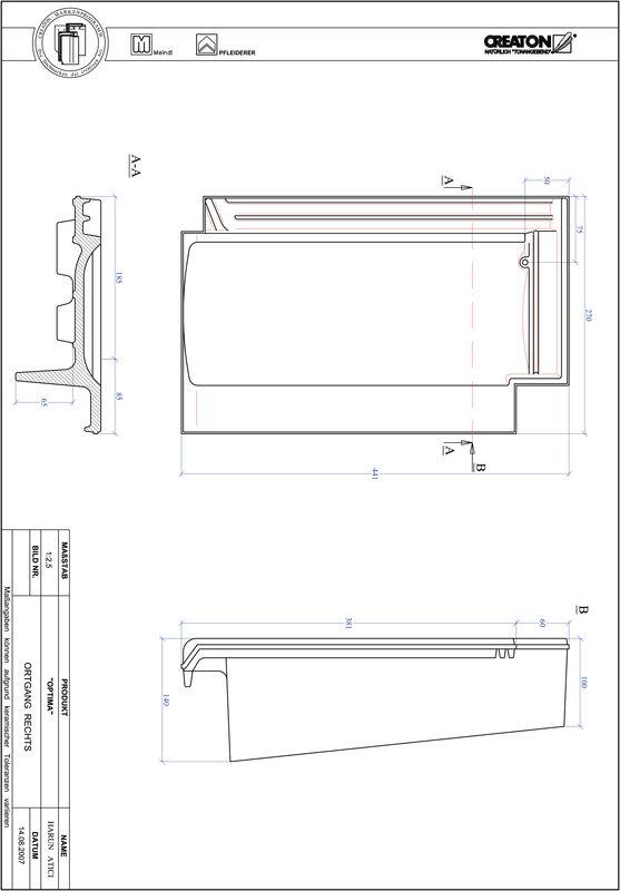 CAD soubor tašky TERRA OPTIMA krajní taška pravá OGR