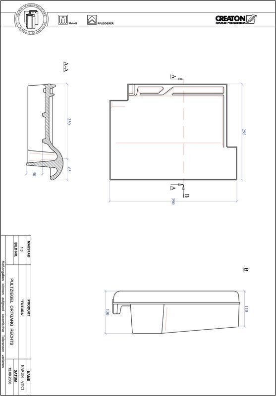 CAD soubor tašky FUTURA pultová taška krajní pravá PULTOGR