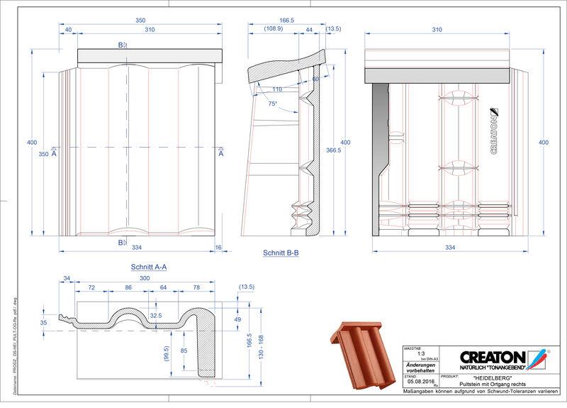 CAD soubor tašky HEIDELBERG pultová taška krajní pravá PultOGR