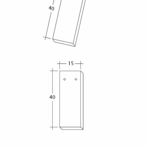 Technický výkres tašky AMBIENTE Ger-3-4