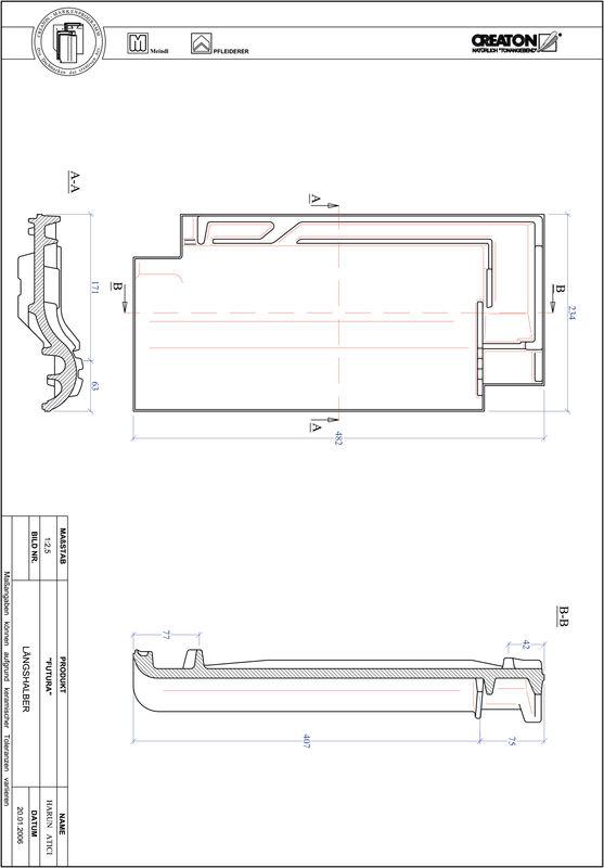 CAD soubor tašky FUTURA poloviční taška LH