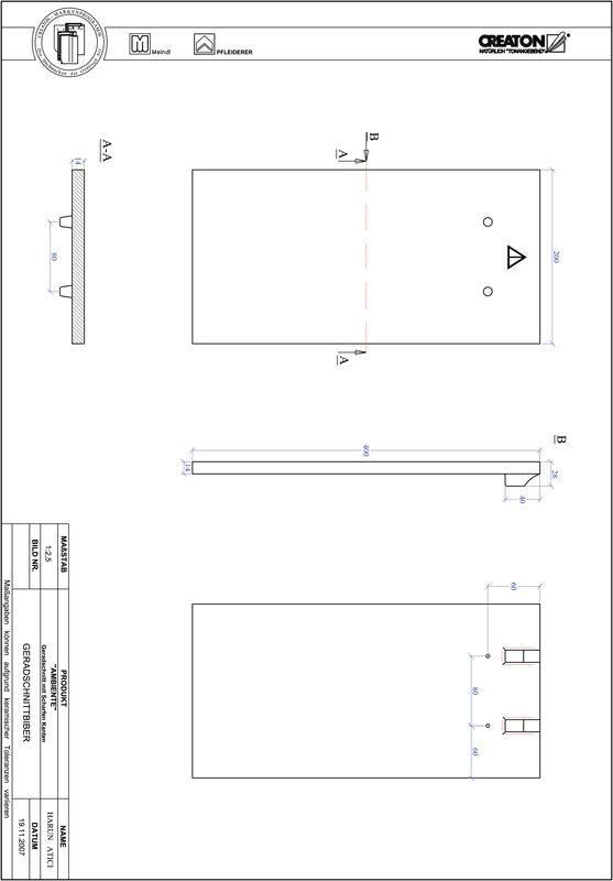 CAD soubor produktu AMBIENTE rovný řez GER-SCHARFE-KANTE