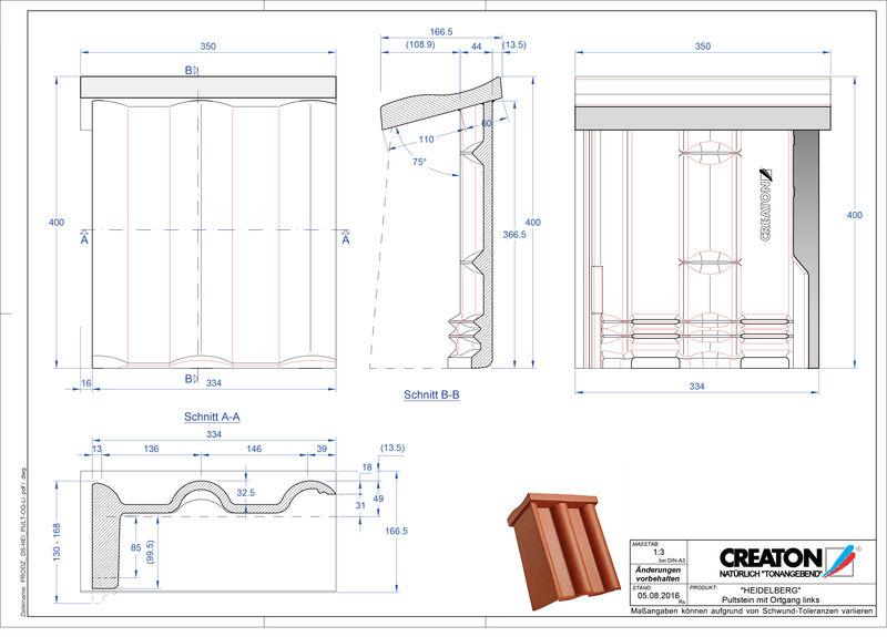 CAD soubor tašky HEIDELBERG pultová taška krajní levá PultOGL