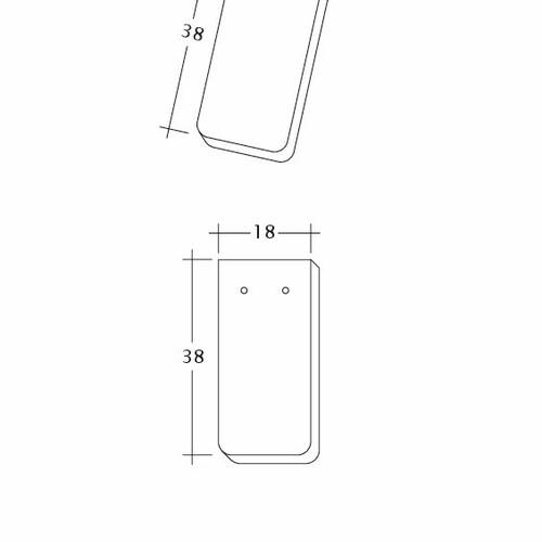 Technický výkres tašky SAKRAL Ger-1-1