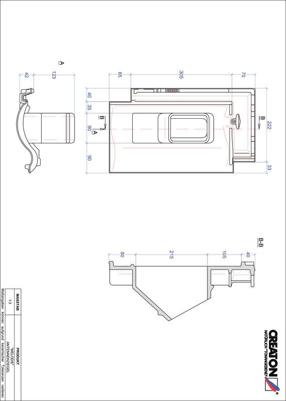 CAD soubor tašky MELODIE anténní taška ANTENNE