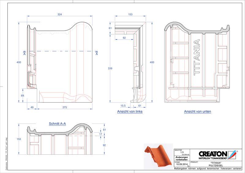 CAD soubor tašky TITANIA pultová taška PULT
