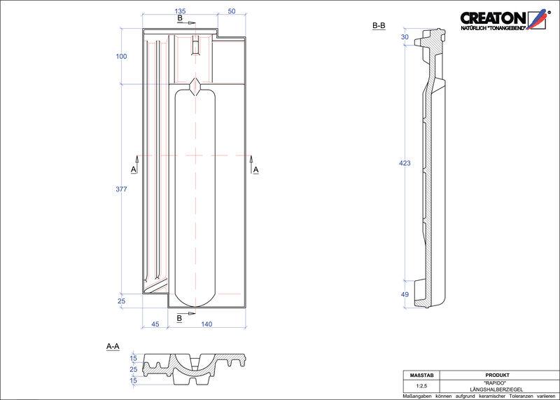 CAD soubor tašky RAPIDO poloviční taška LH