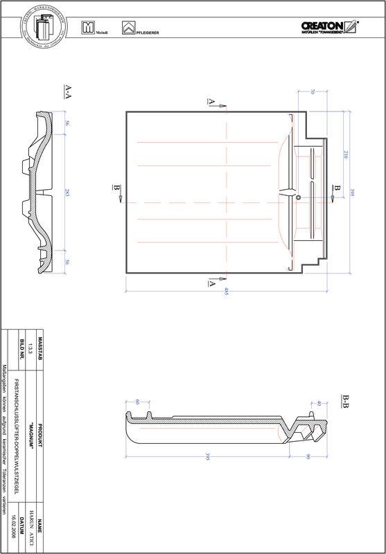 CAD soubor tašky MAGNUM podhřebenová větrací taška s dvojitou naválkou FALDWZ