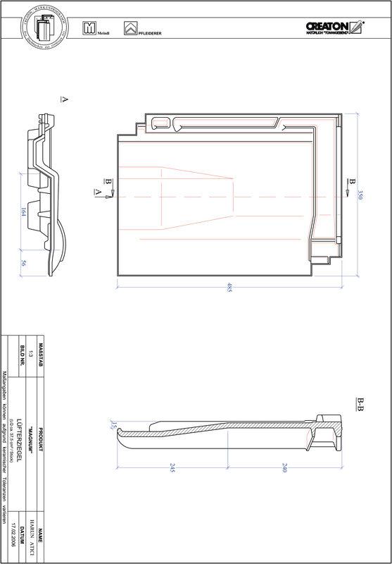 CAD soubor tašky MAGNUM větrací taška LUEFTZ