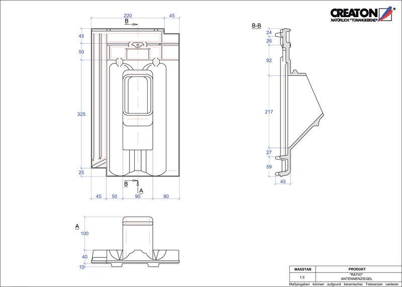 CAD soubor tašky RATIO anténní taška ANTENNE