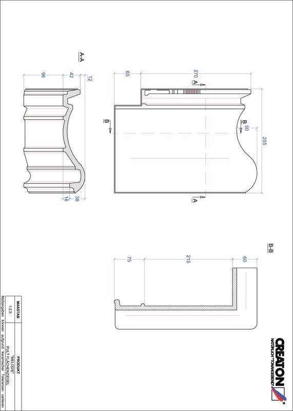 CAD soubor tašky MELODIE pultová taška PULTFLA