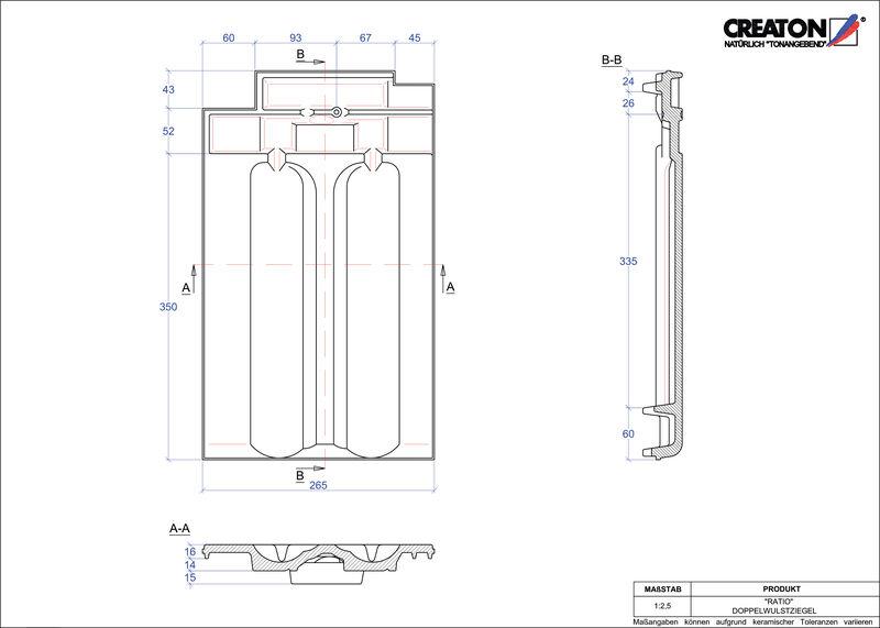 CAD soubor tašky RATIO taška s dvojitou naválkou DWZ