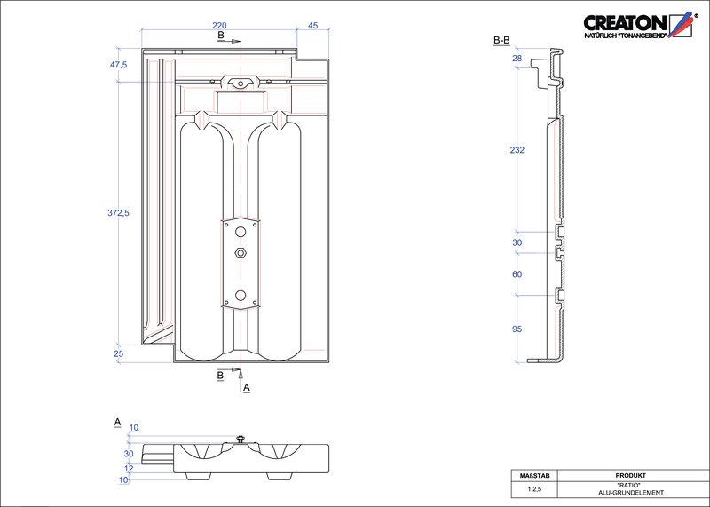 CAD soubor tašky RATIO hliníková základní taška GRUNDALU