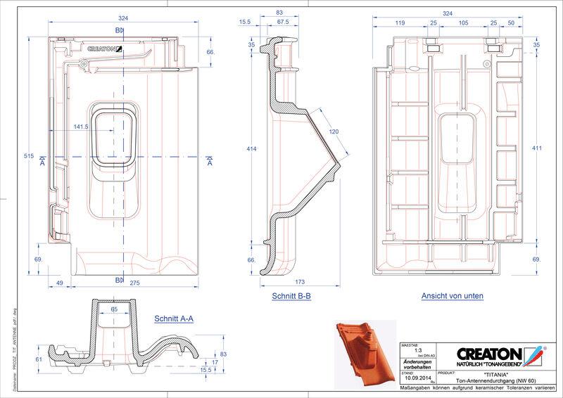 CAD soubor tašky TITANIA anténní taška ANTENNE