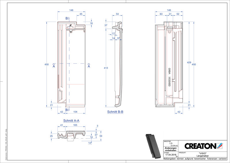 CAD soubor tašky VISIO poloviční taška LH