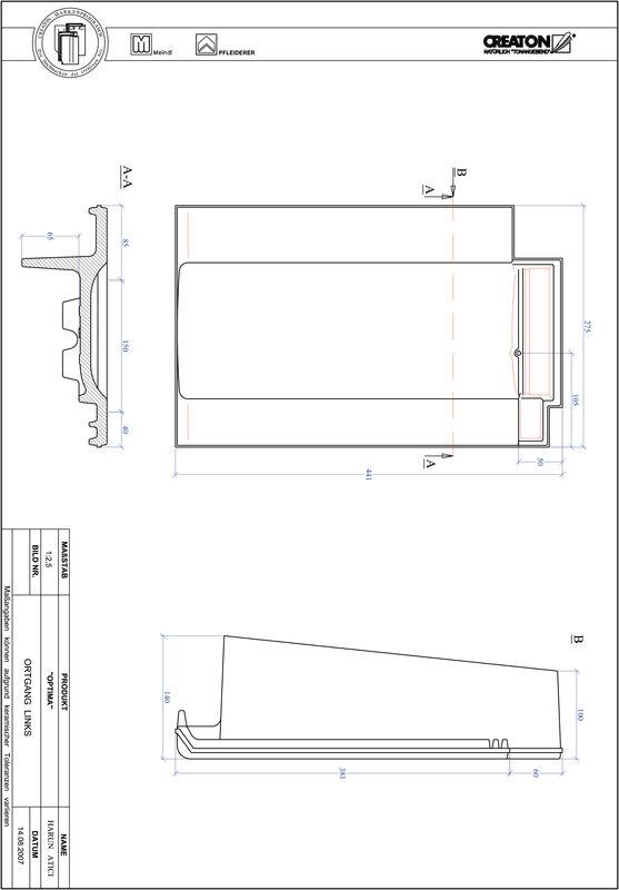CAD soubor tašky TERRA OPTIMA krajní taška levá OGL