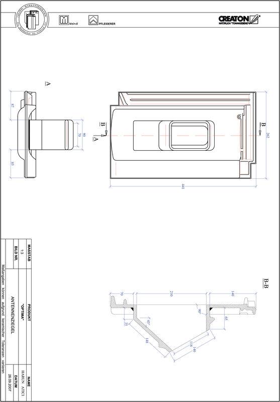 CAD soubor tašky TERRA OPTIMA anténní taška ANTENNE