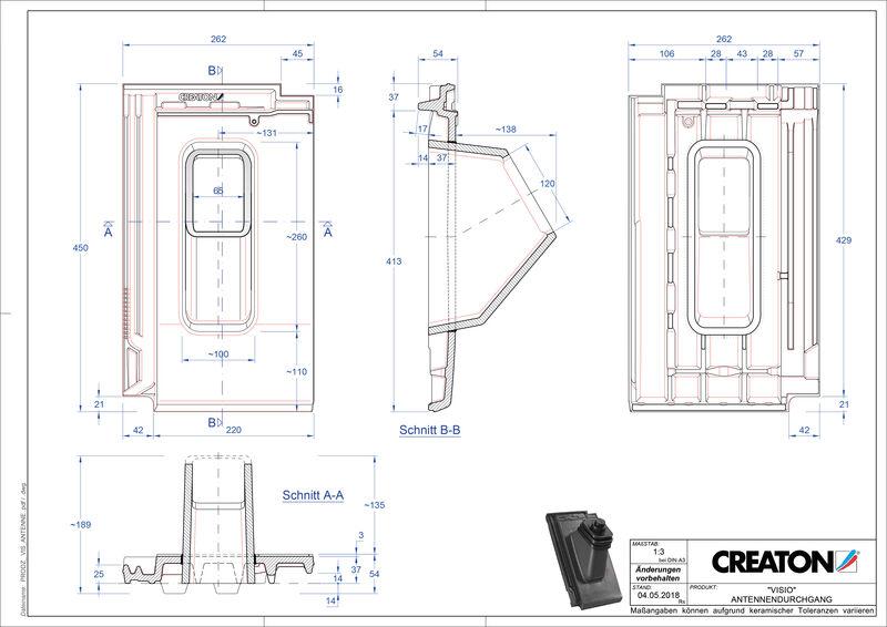 CAD soubor tašky VISIO anténní taška ANTENNE