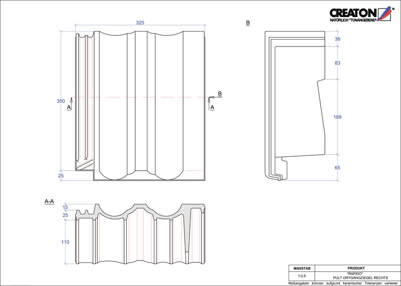 CAD soubor tašky RAPIDO pultová taška krajní pravá PULTOGR