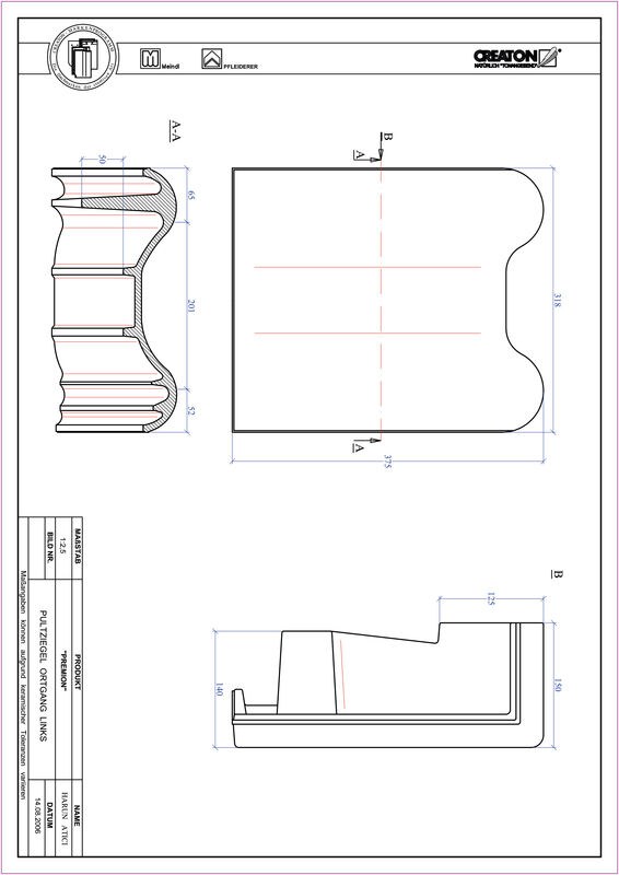 CAD soubor tašky PREMION pultová taška krajní levá PULTOGL