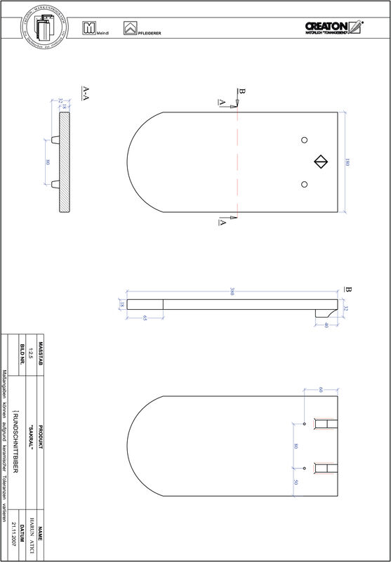 CAD soubor tašky SAKRAL zaoblený tvar RUND-1-1