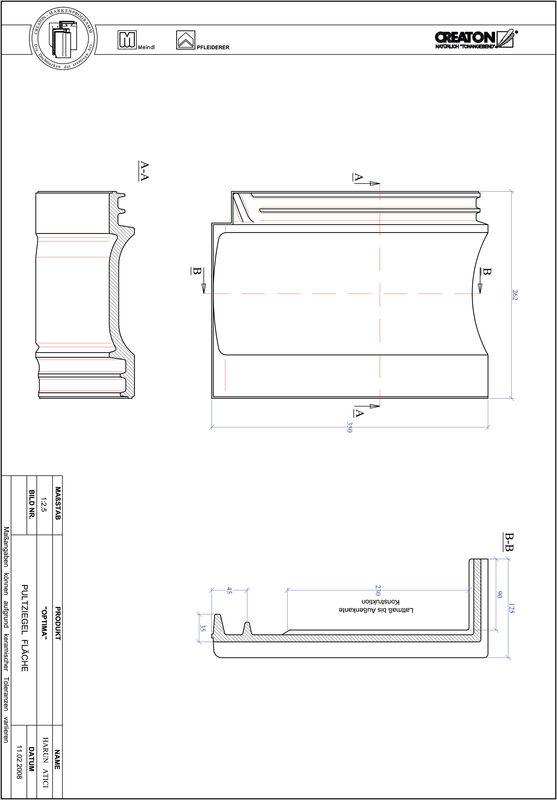 CAD soubor tašky TERRA OPTIMA pultová taška PULTFLA