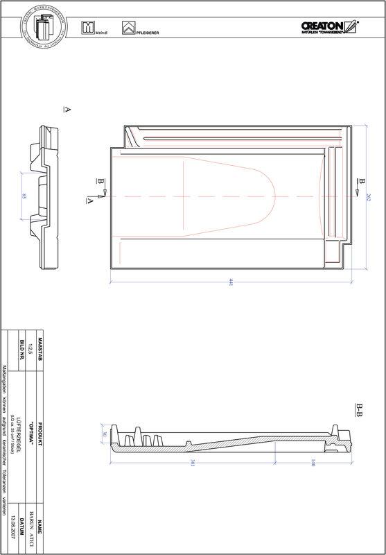 CAD soubor tašky TERRA OPTIMA větrací taška LUEFTZ