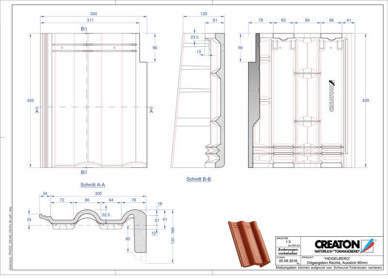 CAD soubor tašky HEIDELBERG pultová taška krajní pravá PultOGR-90