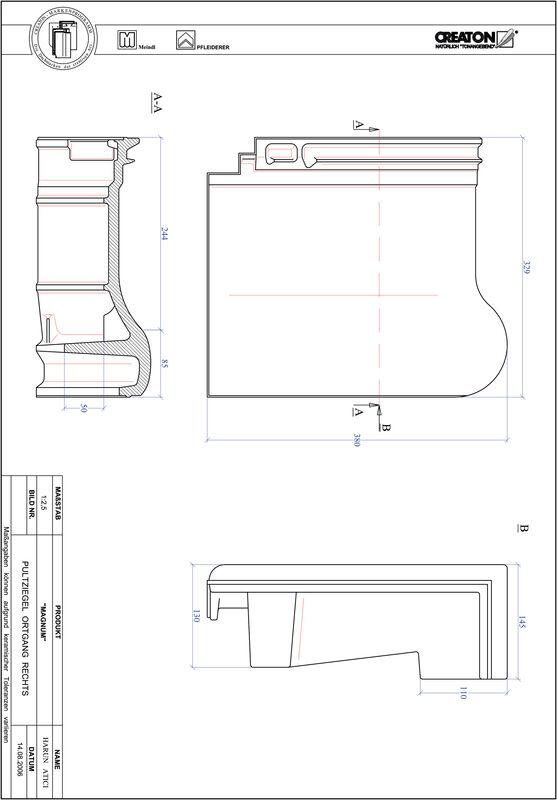 CAD soubor tašky MAGNUM pultová taška krajní pravá PULTOGR