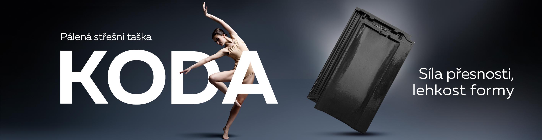 KODA - Elegantní střešní taška s dokonalými proporcemi