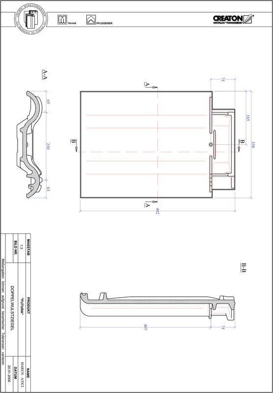 CAD soubor tašky FUTURA taška s dvojitou naválkou DWZ
