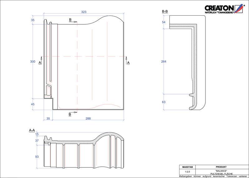 CAD soubor tašky BALANCE pultová taška PULTFLA