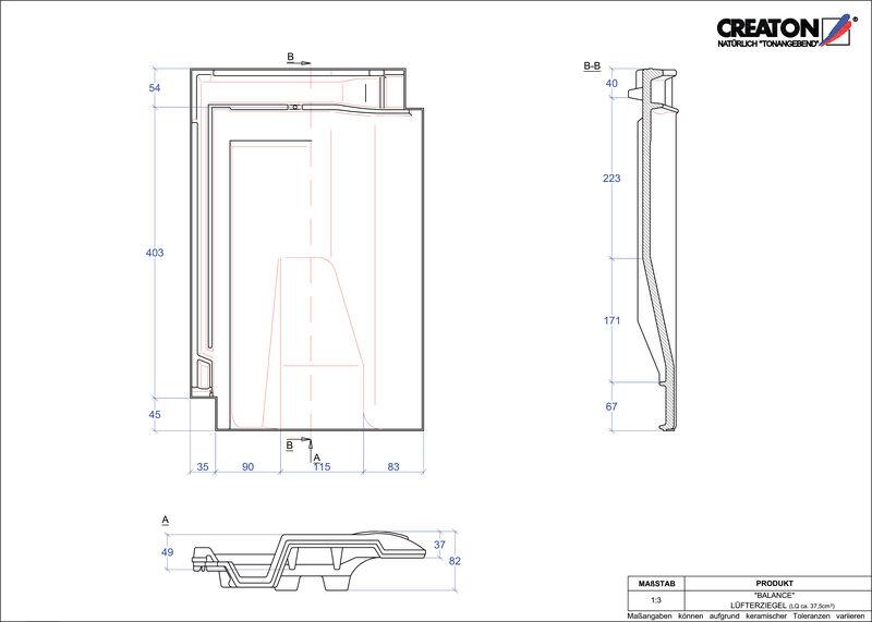 CAD soubor tašky BALANCE větrací taška LUEFTZ