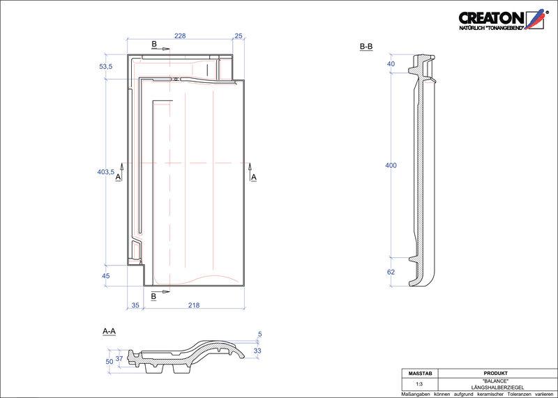 CAD soubor tašky BALANCE poloviční taška LH