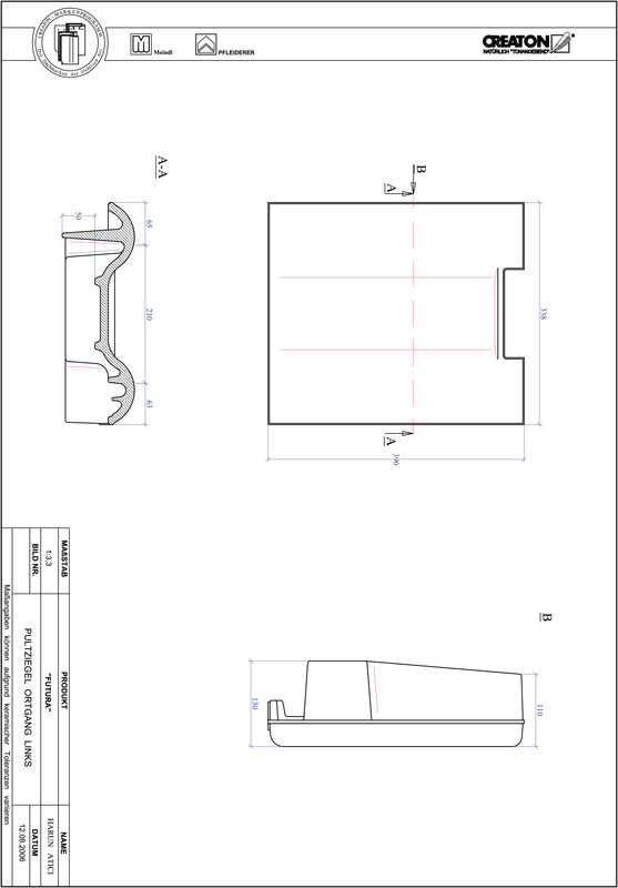 CAD soubor tašky FUTURA pultová taška krajní levá PULTOGL