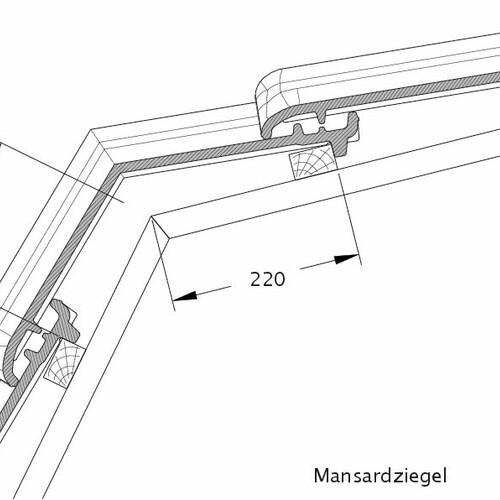 Technický výkres tašky TITANIA MAZ