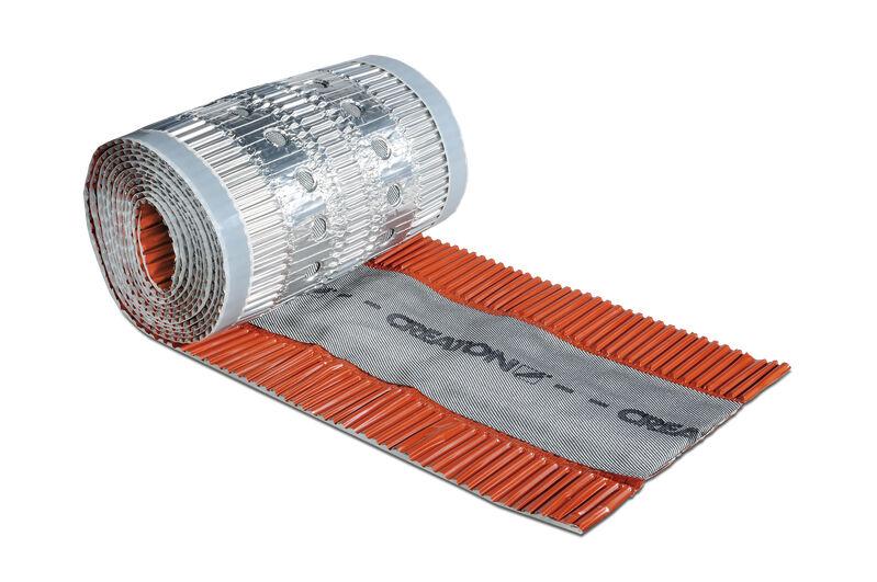 Větrací pás hřebene a nároží 300 mm (CREAROLL ALU)