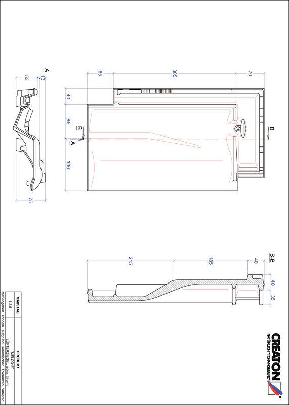 CAD soubor tašky MELODIE větrací taška LUEFTZ